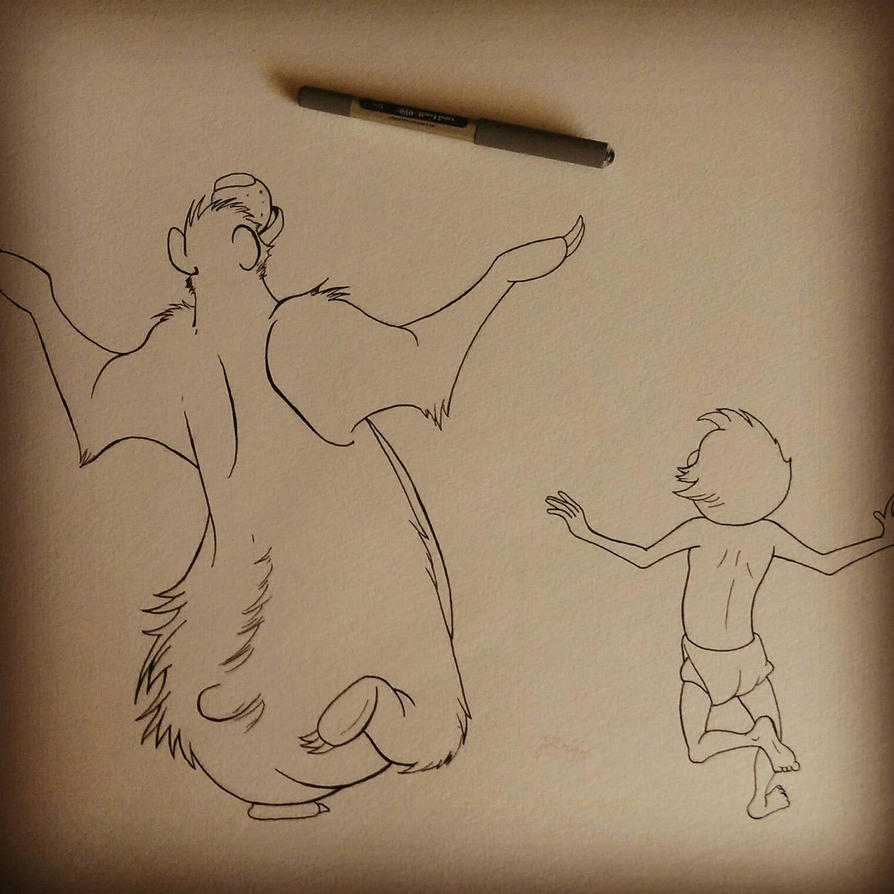 wip the bare necessities by Barfly1986