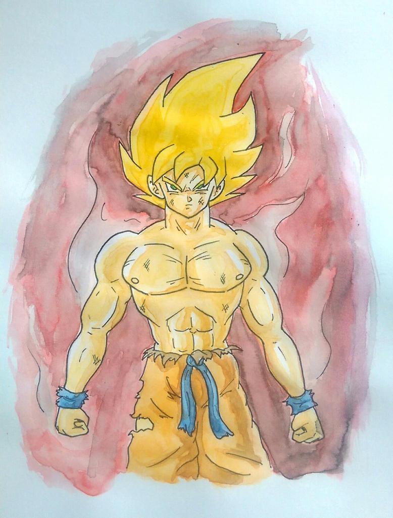 Goku by Barfly1986