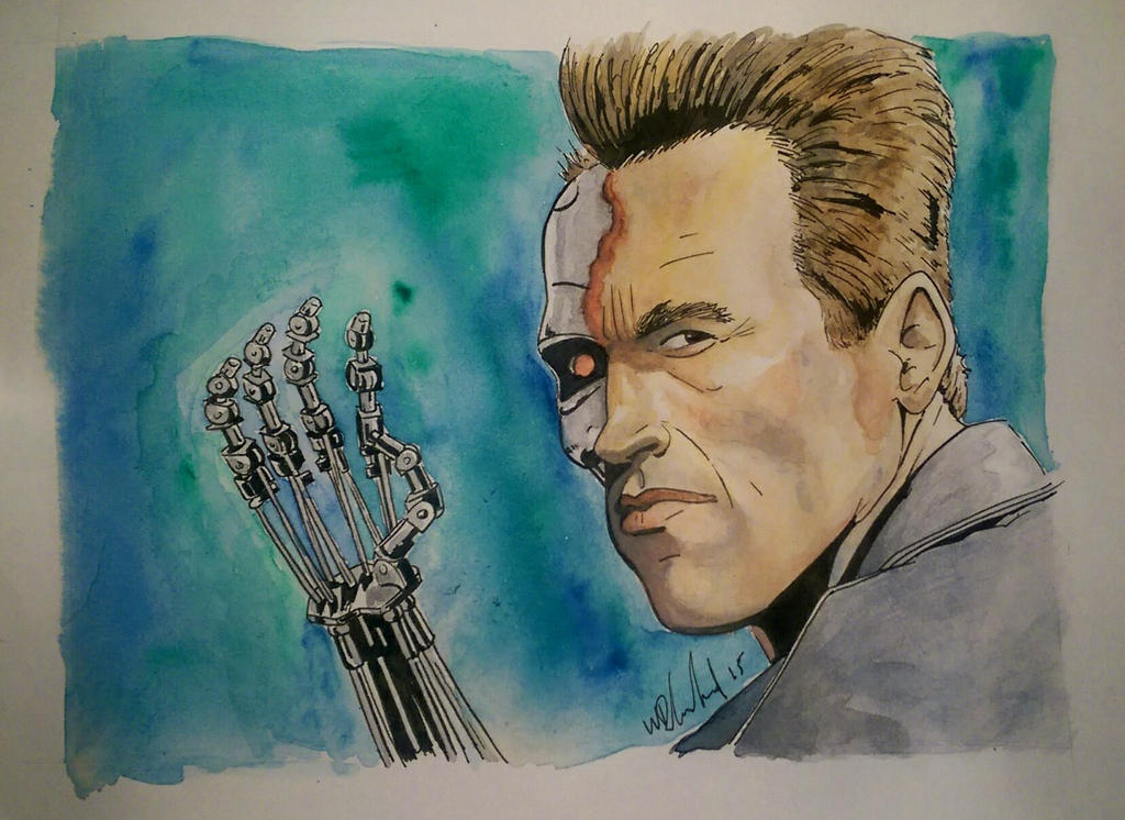 the terminator by Barfly1986