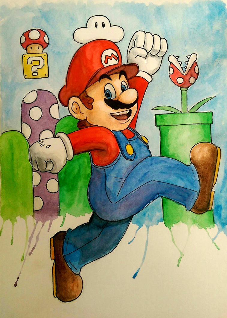 Super Mario by Barfly1986
