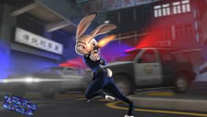 Action hero Judy!