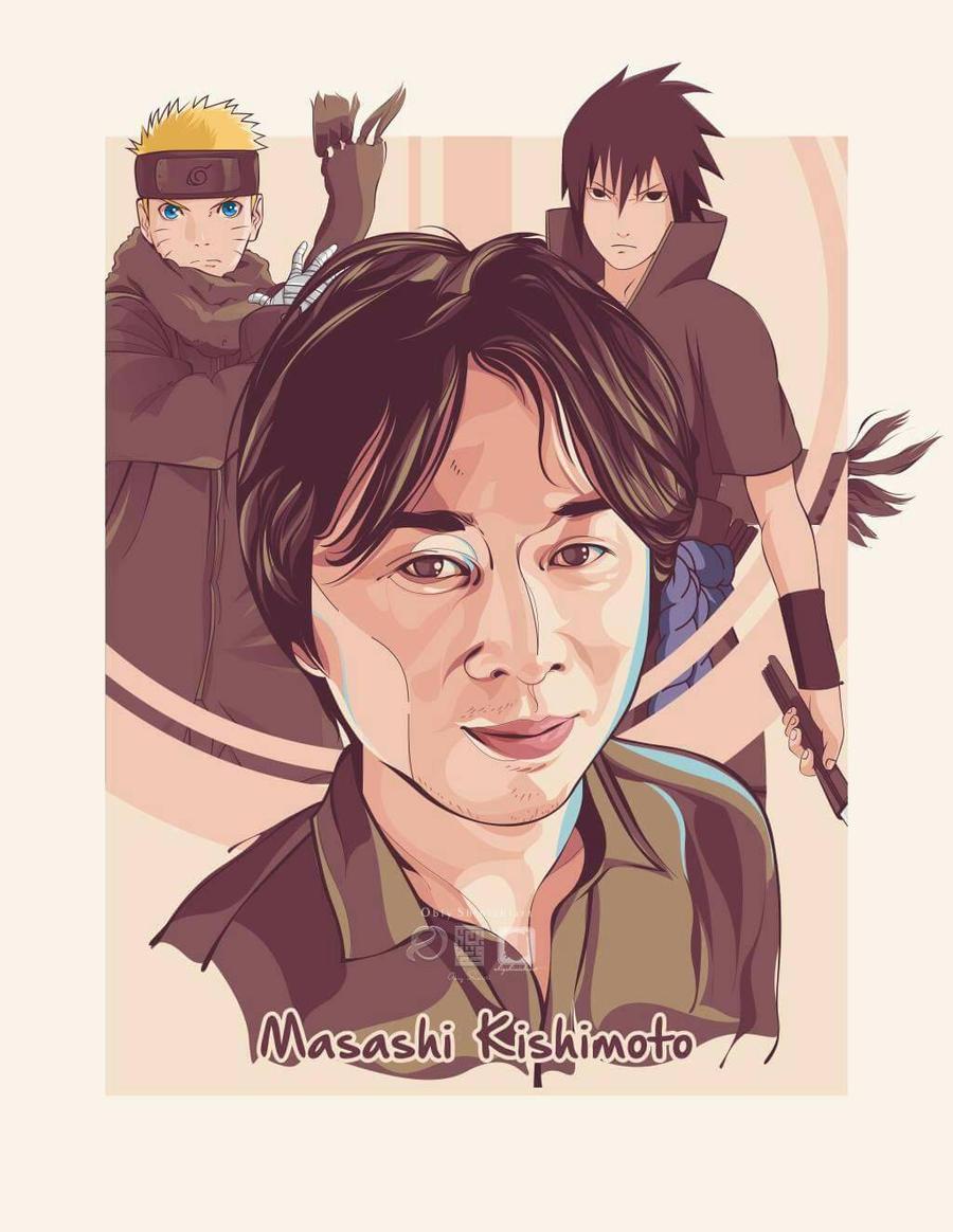 Masashi Kishimoto - Naruto - By Obiy Shinichi by obiyshinichiart