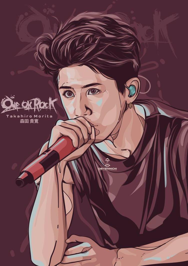 Takahiro Morita - ONE OK ROCK by obiyshinichiart