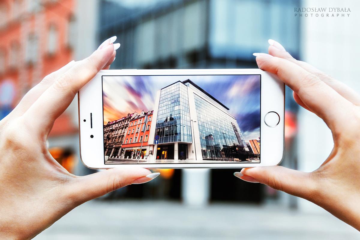 Glass house by Dybcio