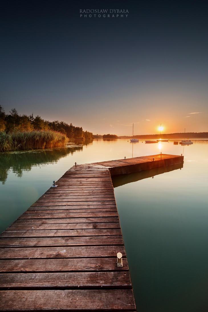 Green Lagoon by Dybcio