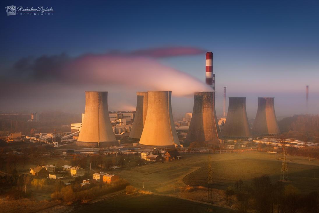 Power plant by Dybcio