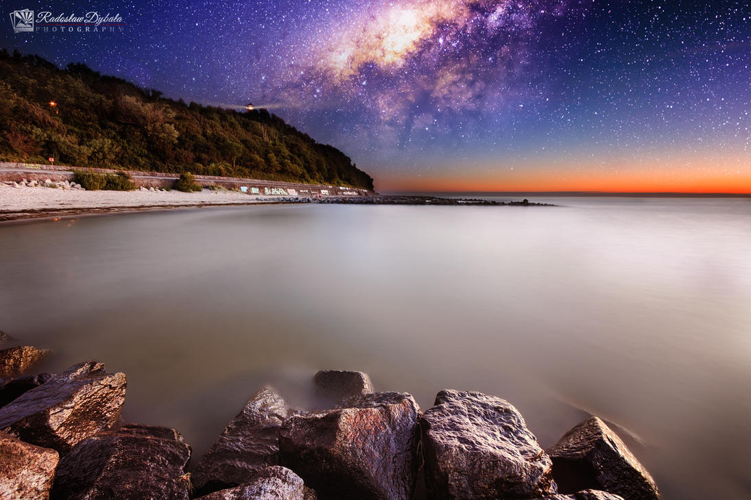 Star sea by Dybcio