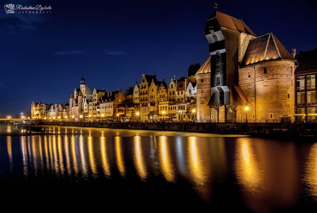 Golden Gdansk by Dybcio