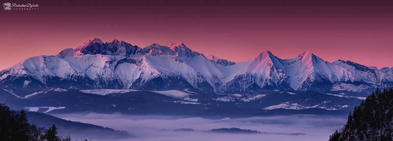 Tatra sunrise