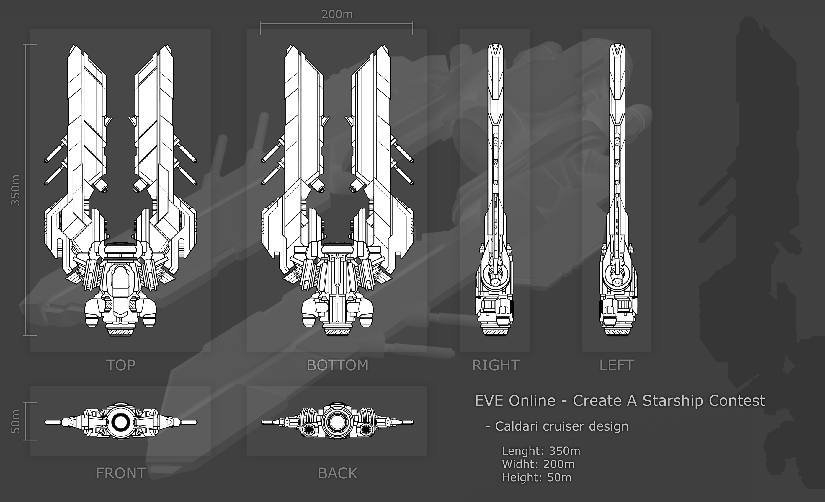 EVE Contest Entry: Cruiser by Keelhauler