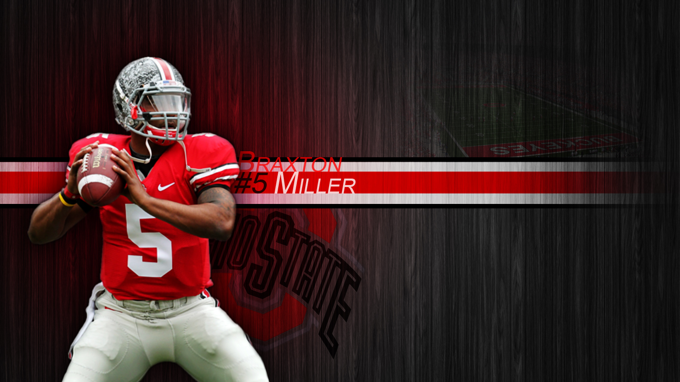 2013 Ohio State Buckeyes Football Schedule Braxton Miller Wallpaper