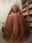 Backside of the Ditchley gown - Queen Elizabeth I