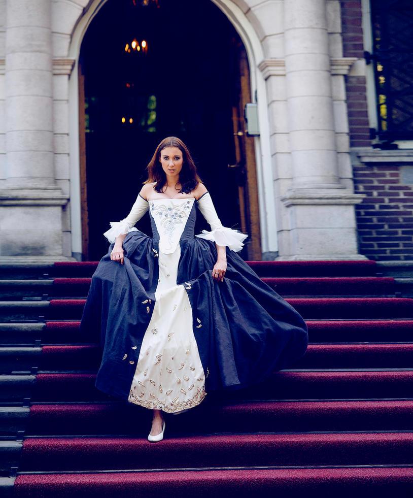 Outlander wedding dress - handmade by Firefly182