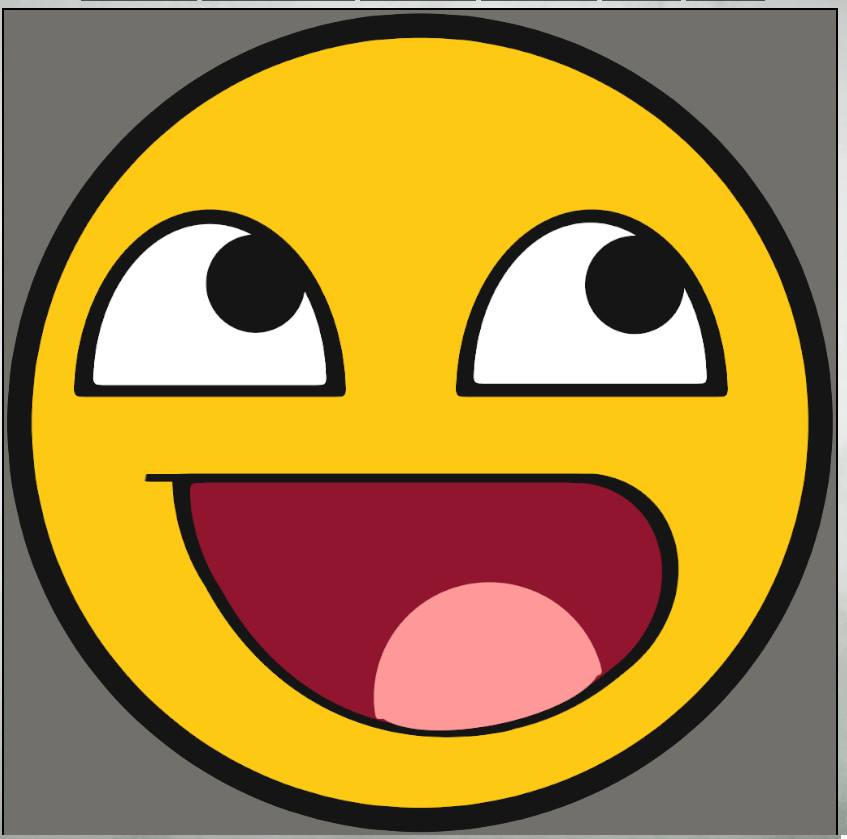 Awesome Face Emoji Vector by gemquist on DeviantArt