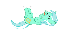 Laughing Lyra-colored