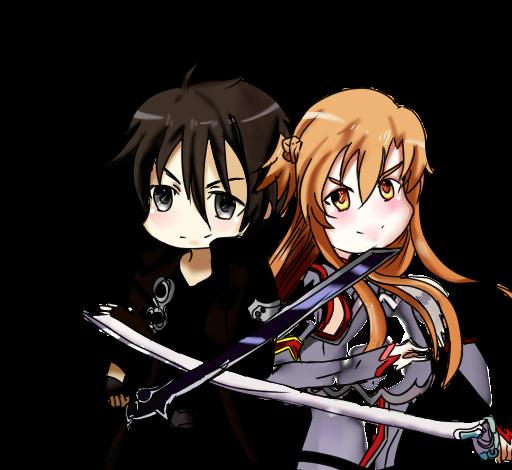 Sword Art Online Kirito And Asuna Fighting Download