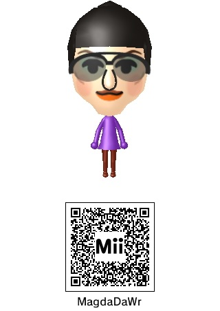 MagdaDAWr In Mii Form Plus QR Code by tAll3Shyguy