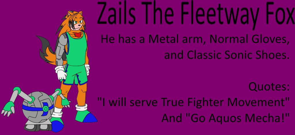 Zails The Fleetway Fox by tAll3Shyguy