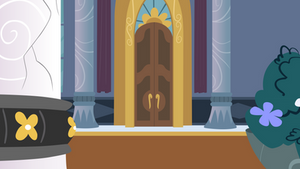Cadance Room Door Vector