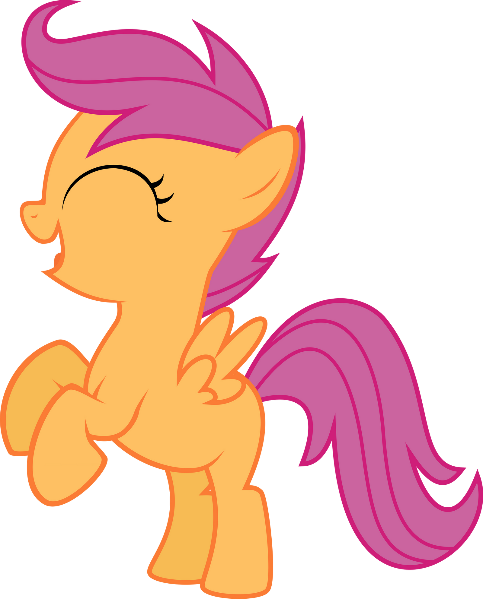 Scootaloo Happy Rear Vector By Starshinecelestalis On Deviantart Finally got around to fixing up the problems in this. scootaloo happy rear vector by