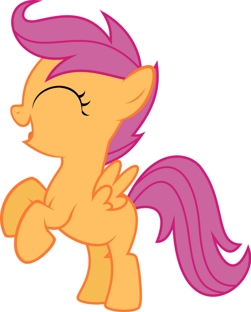 Scootaloo Happy Rear Vector By Starshinecelestalis On Deviantart I thought the target was near the barn. applebloom pokerfaces as she looks back to scootaloo: scootaloo happy rear vector by