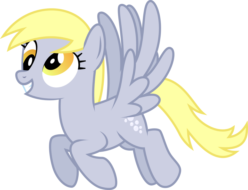 Derpy Hooves Flying Vector by StarshineCelestalis on ...