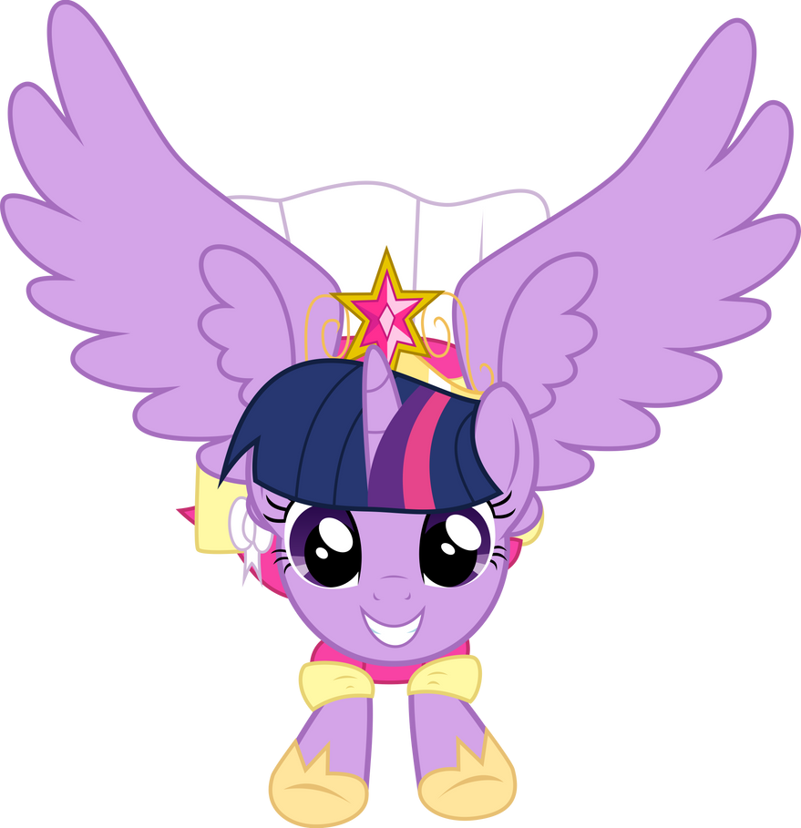 Twilight's First Flight by StarshineCelestalis