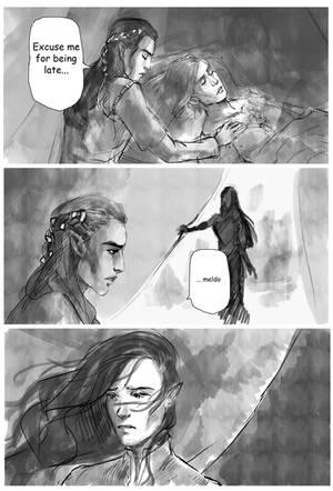 Fingon, Maedhros, Maglor by Skvorr