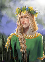 Summer Finrod by Skvorr