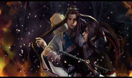 Wei Ying with Lan Zhan