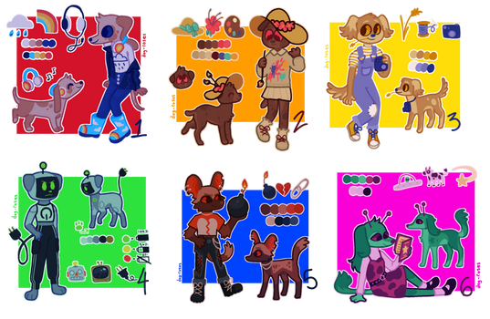 CLOSED emoji adopts with questionable fashion