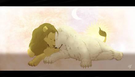 Jaime and Brienne Cuddles