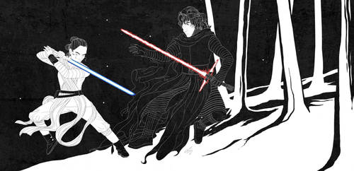 Rey and Ren - Yin and Yang