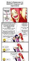Momo's Response - Naruto 437