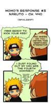 Momo's Response - Naruto 440