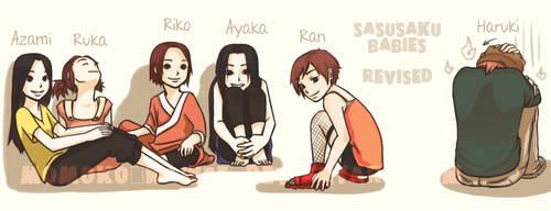 SasuSaku kids WIP