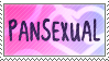The Second Pansexual Stamp by Momoko-Kawase
