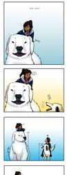 Legend of Korra - Dog Comic by Momoko-Kawase