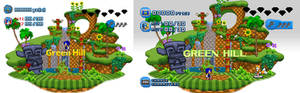 (Sonic Generations Fan Remake) COMPARING