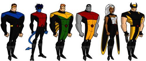 X-men's New Look by grego23