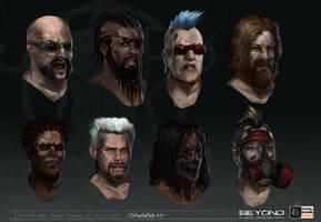 Shotgun_Rebel_Head_concepts by zombie-ninja