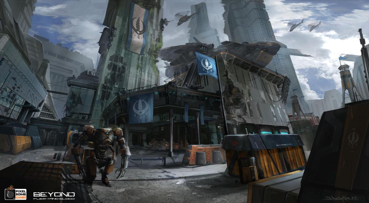 U.G.R_Base_Camp_Hilton_Hotel_Manchester by zombie-ninja