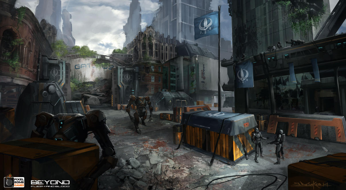 U.G.R_Base_Camp_Hilton_Hotel_Manchester02 by zombie-ninja