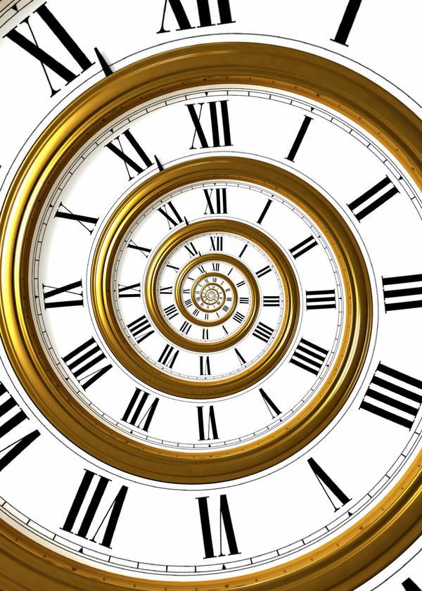 Spiral Clock 2 by cat-machine