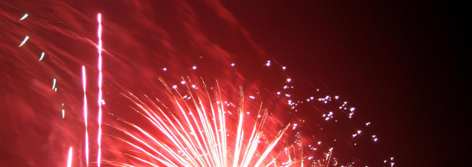 Fireworks IX by dhunley