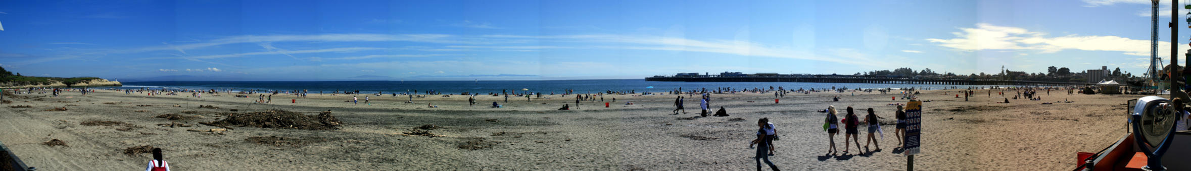 Santa Cruz Beach by dhunley