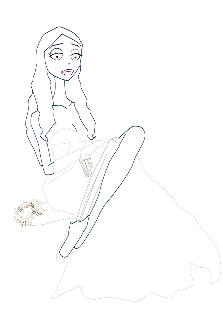 It's just a picture of Irresistible corpse bride coloring pages