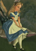 Alice coloring book by Mize-meow
