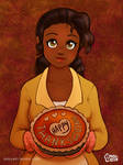 Princess Tiana: Happy Thanksgiving