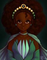 Custom Princess Tiana Doll by daisyein